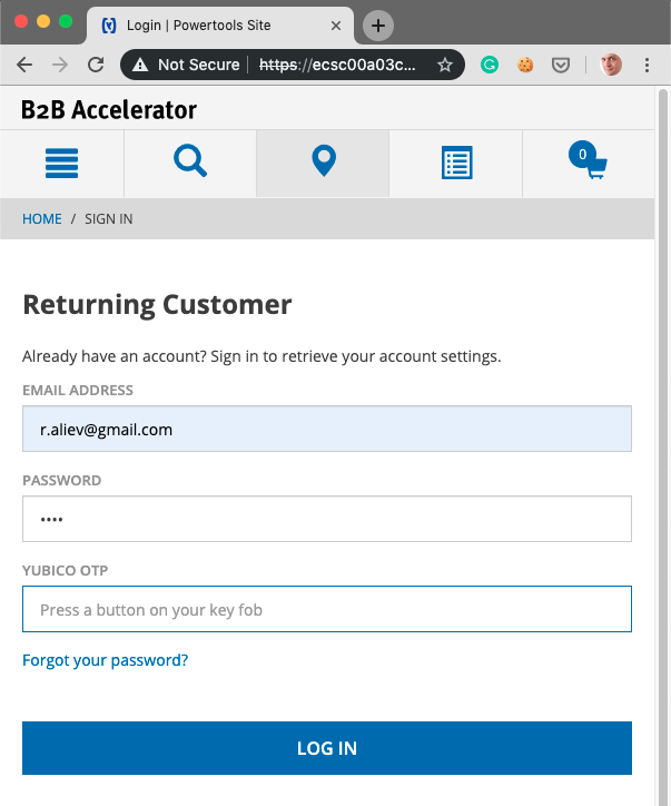Authentication with Hardware Security Keys and WebAuthn in SAP